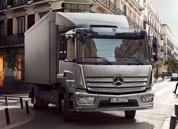Lkw Neufahrzeuge von Mercedes-Benz