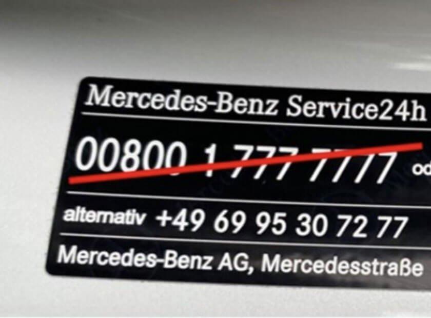 Änderung der Service24h Notrufnummern