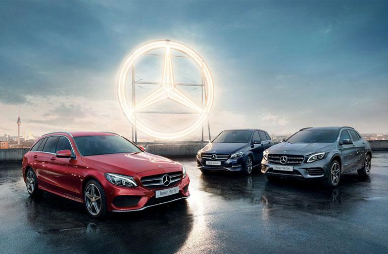 Junge Sterne von Mercedes-Benz
